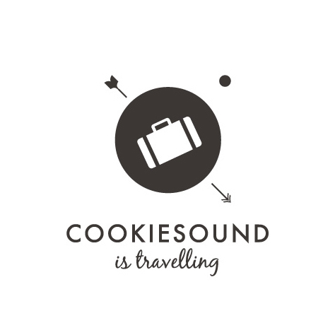 Cookiesound Travel Blog Identity