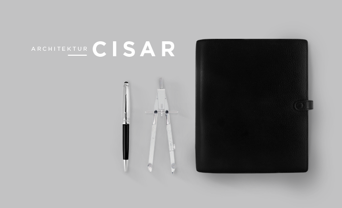 Visual Identity Architektur Cisar